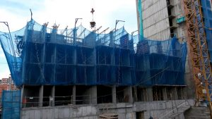 plasa protectie constructii tip V
