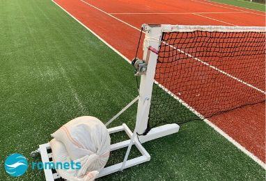 Stalpi fileu tenis de camp, fixi si mobili